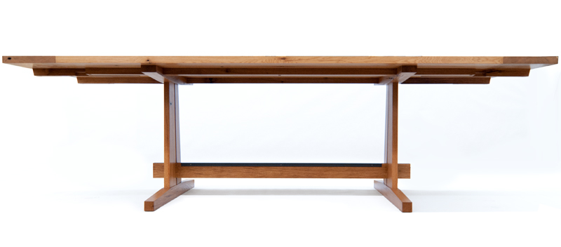Custom Oak Dining Table ...